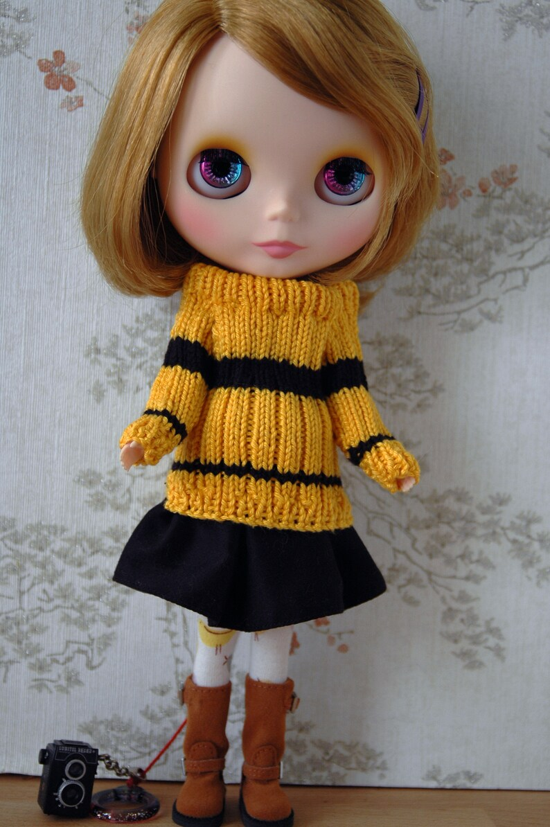 Blythe House pride jumper sets: Yellow and Black image 0