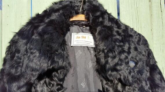Pelzjacke Vintage Pelz Jahrgang Mantel 1950s Ziege 1960s SzVpLqjUMG
