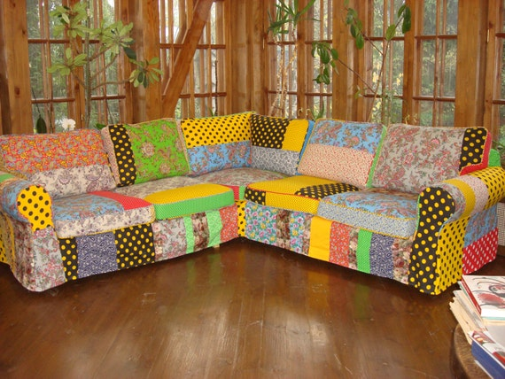 Swell Modern Furniture Bespoke Art Accent Sofa Removable Cover Accent Furniture Patchwork Sofa Hipster Style Gypsy Style By Alladmitryuk Gamerscity Chair Design For Home Gamerscityorg