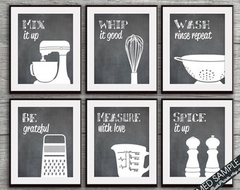 More Colors Funny Kitchen Art