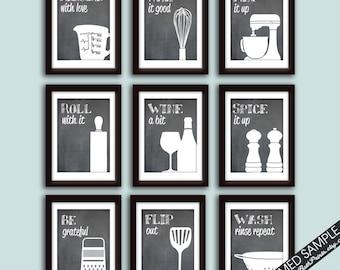 Superieur Funny Kitchen Art | Etsy