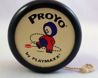 PROYO AUTOGRAPHED Yo-Yo by Dan Duncan, Jr Signed Playmaxx Pro-Yo 1995 Playmaxx Dan Duncan Founder Playmaxx Signed Pro-Yo by Playmaxx Yo-Yo
