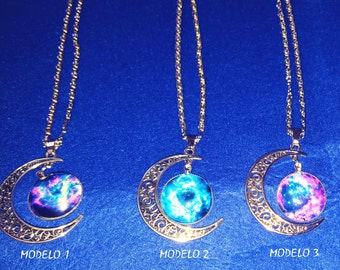 The universe-inspired necklace