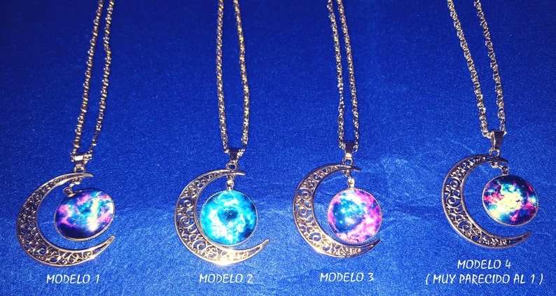 The universe-inspired necklace image 0