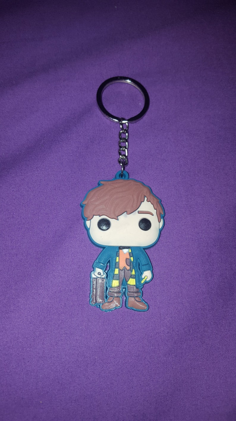 Keychain Newt Scamander animals fantastic and where to image 0