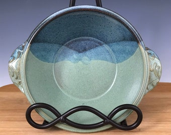 Appetizer Baker, Casserole Dish, Small Dish, Blue and Green
