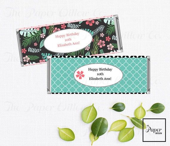 Angel Lilo And Stitch Candy Bar Wraps Instant Download Non Editable