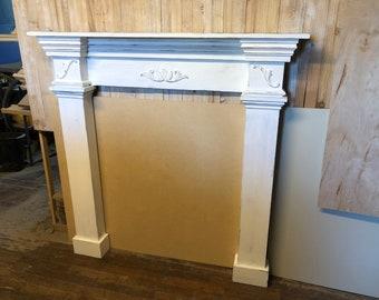 Sensational Fireplace Surround Etsy Home Interior And Landscaping Ponolsignezvosmurscom
