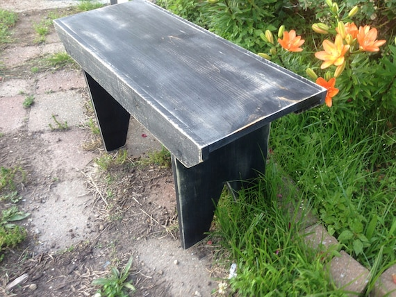 Fabulous Garden Bench Rustic Wooden Bench Primitive Style Distressed Bench Gmtry Best Dining Table And Chair Ideas Images Gmtryco