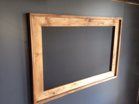 28 X 40 Rustic Framed Chalkboard Rustic Wedding Etsy