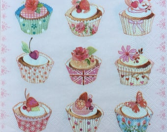 Decoupage Paper Napkins - Ephemera for Scrapbooking, Card making, Collage, Decoupage, Altered Art and Crafts