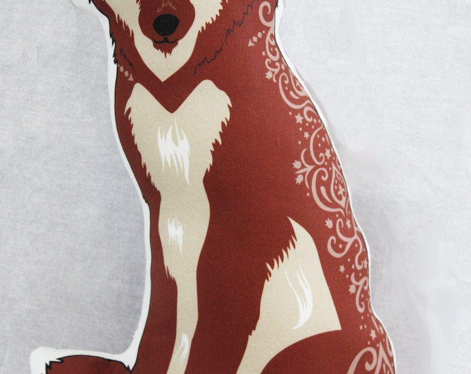 Wolf Doll/Pillow - Brown Wolf