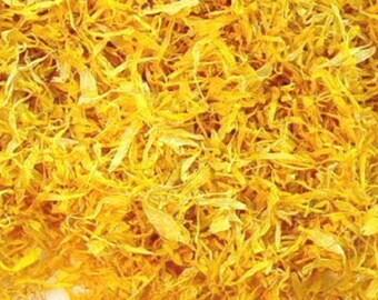 4 Cups Calendula (Marigold) Petals (1.3 oz. -- it's super light and fluffy!) ***FREE SHIPPING***