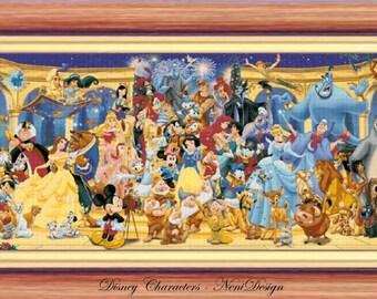 Disney Heroes 23 - Disney Characters - NeniDesign - cross stitch pattern - cross stitch disney - PDF pattern - instant download!