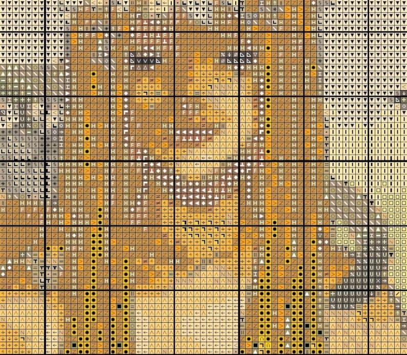 PDF pattern Artwork by Hannah Alexander Selfless instant download! cross stitch pattern cross stitch