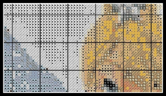 Woman With Pearl Necklace~counted cross stitch pattern #1045~Fine Art Chart