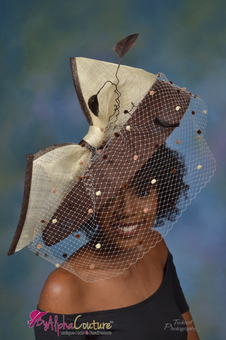 5b579c451e990 Brown Hatinator Derby hat. Sophisticated Hatinator. Royal