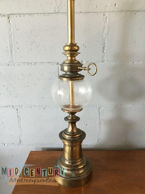 Hollywood Regency Brass Stiffel