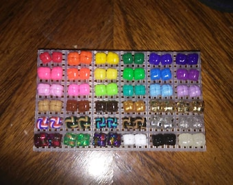 Handmade Hypoallergenic Plastic Lanyard Stud Earrings