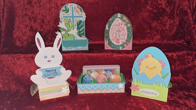 Easter 3D Box Cards image 0