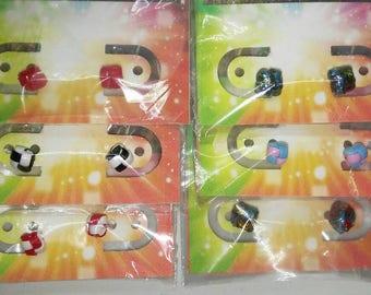 Handmade Hypoallergenic Plastic Lanyard Stud Earrings Singles