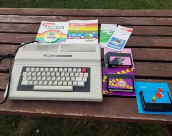 Free Shipping!! Tandy 64K Color Computer 2 With Games and Manuals