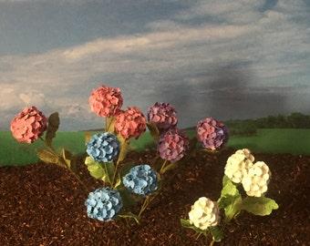Hydrangea stems