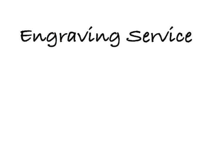 Ring engraving service