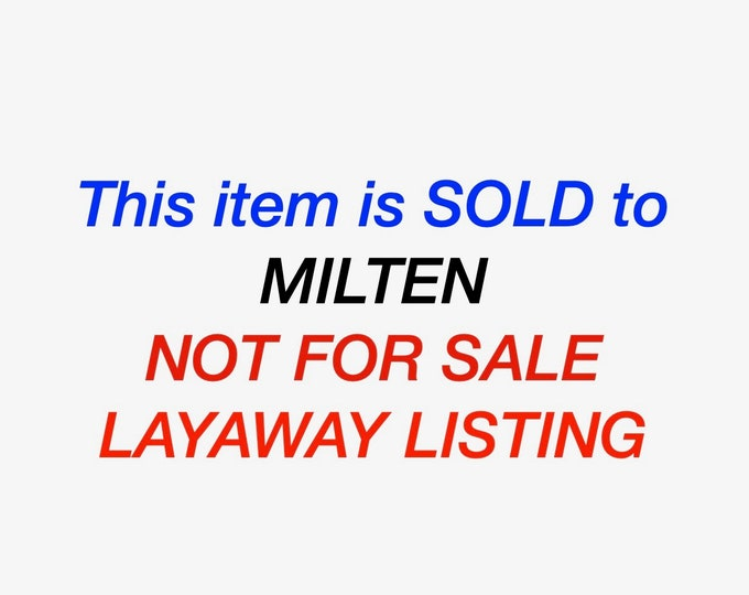 SOLD to Milten  Layaway 6 four gold rings of various descriptions (see photos)
