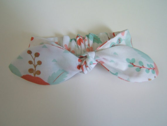 Girls Fabric Knot Headbands Elastic Back Baby Headband  b0f214e16a7
