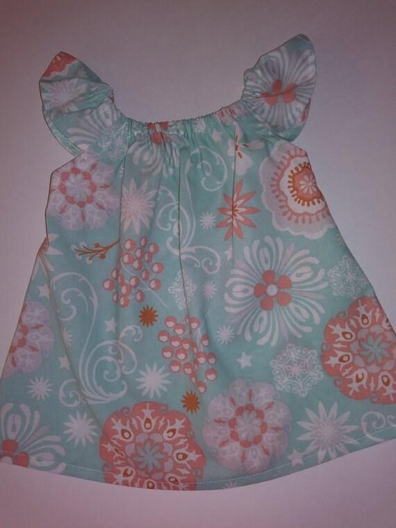 20c3ebf13 Girls Beach Dress Flutter Sleeve Dress Summer Dress Coral