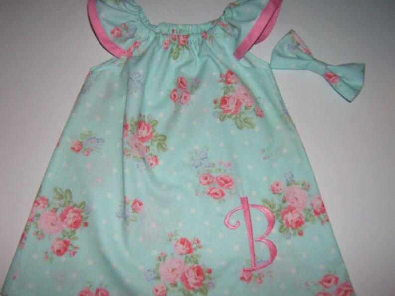 dc6385b15 Girls Beach Dress Monogrammed Dress Flutter Sleeve Summer