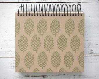 Spiral Ring Notebook GreenPinecone