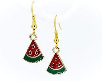 Earrings watermelon