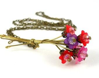 Bouquet de collier de fleurs