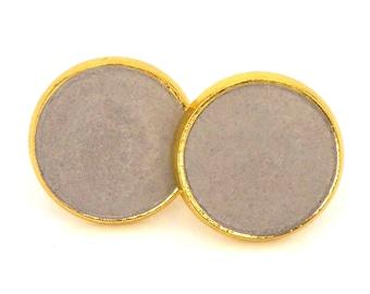Concrete Stud Earrings
