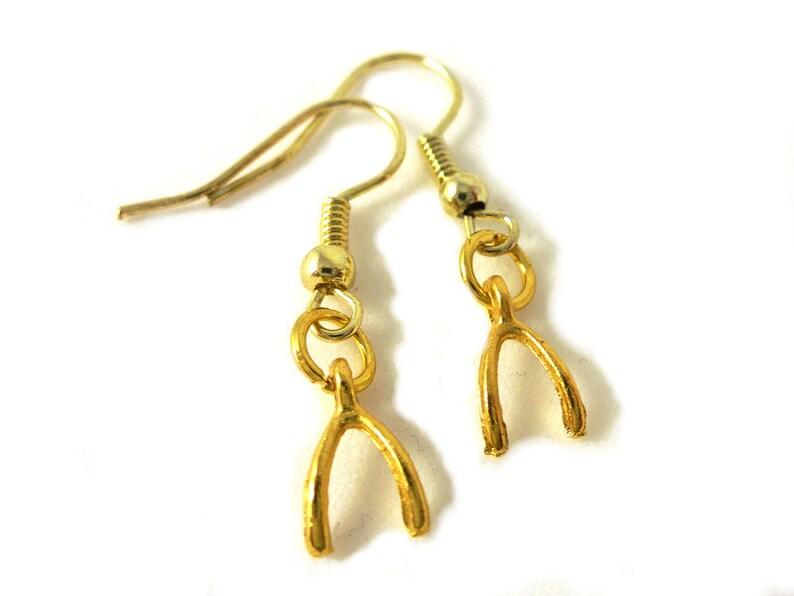 Desire Bone Earrings image 0