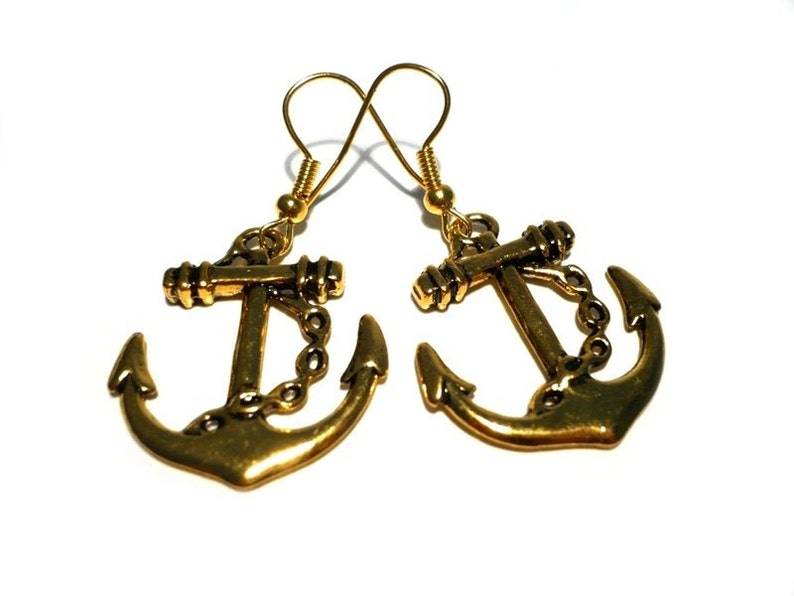 Anchor Earrings image 0
