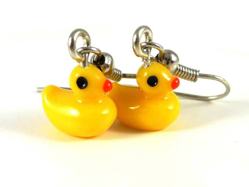 Duck Earrings image 0