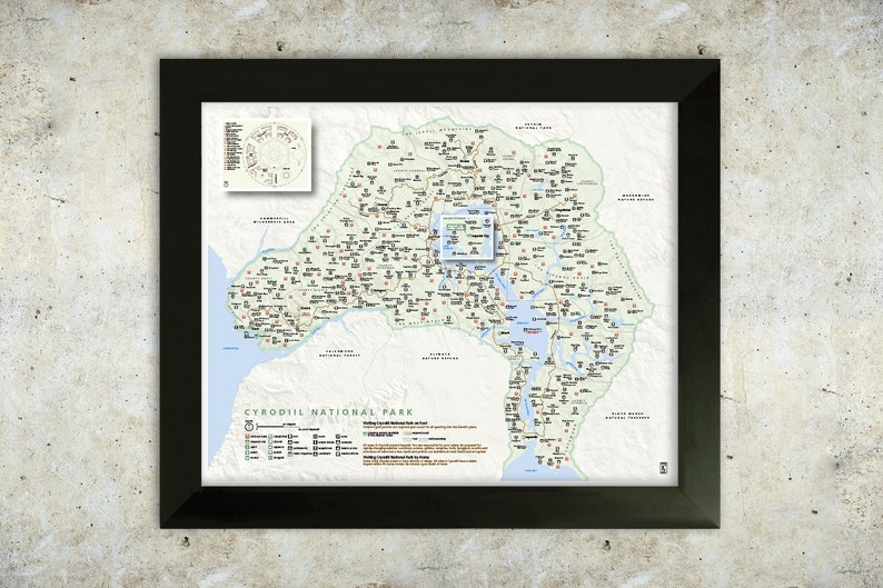 Oblivion Karte.Cyrodiil Karte Oblivion Nationalpark Stil 16 X 20 Poster