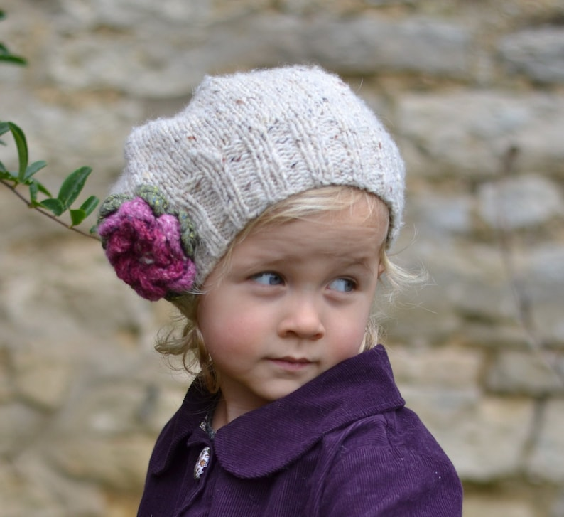 New In The Round Instructions Added Knitting Patterns Girls Etsy