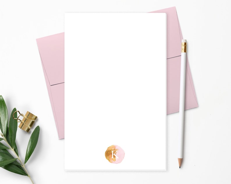 Personalized Notepad. Personalized Note Pad. Personalized image 0