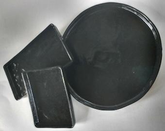 Trays for teardrop bowls