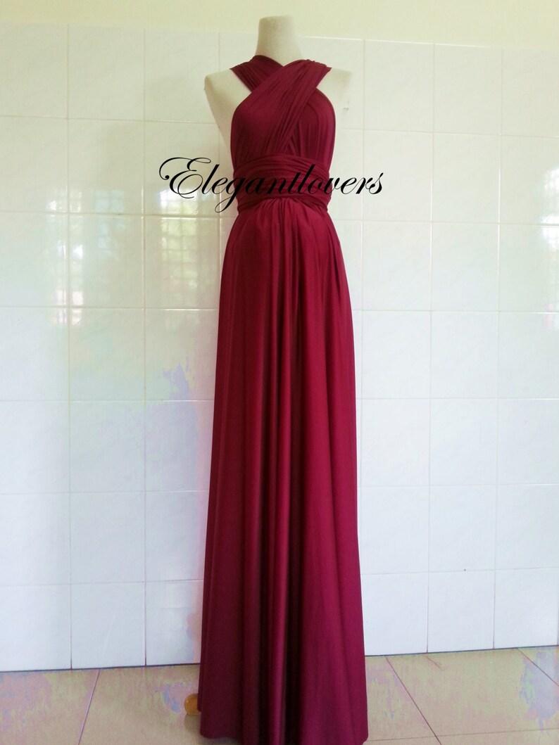 1507b2273c Red Wine Merlot Burgundy Maternity Dress Wedding Maroon