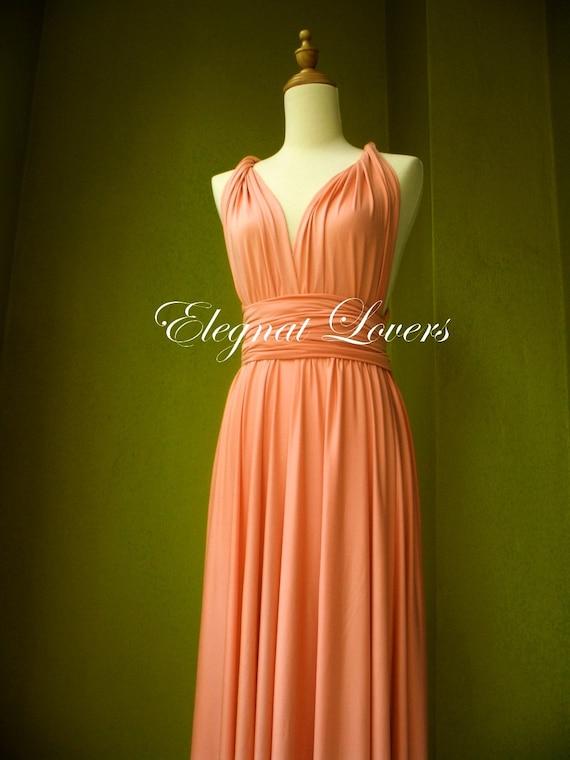 Coral Wedding Dress