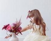The Astrantia, Flower Girl Dress