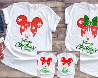 76bbe71e5 Disney Christmas Shirt - Disney Shirt ~ Disney Christmas Minnie Shirt ~ Disney  Mickey Disney Trip shirt ~ Toddler - Adult sizes available
