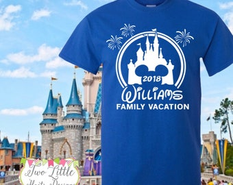 482adee0 Disney Family Vacation Shirts ~ Personalized Disney Trip Shirts ~ Disney  Castle Shirts ~ Disney Trip ~ Disney Group ~ Mickey shirt ~ Minnie