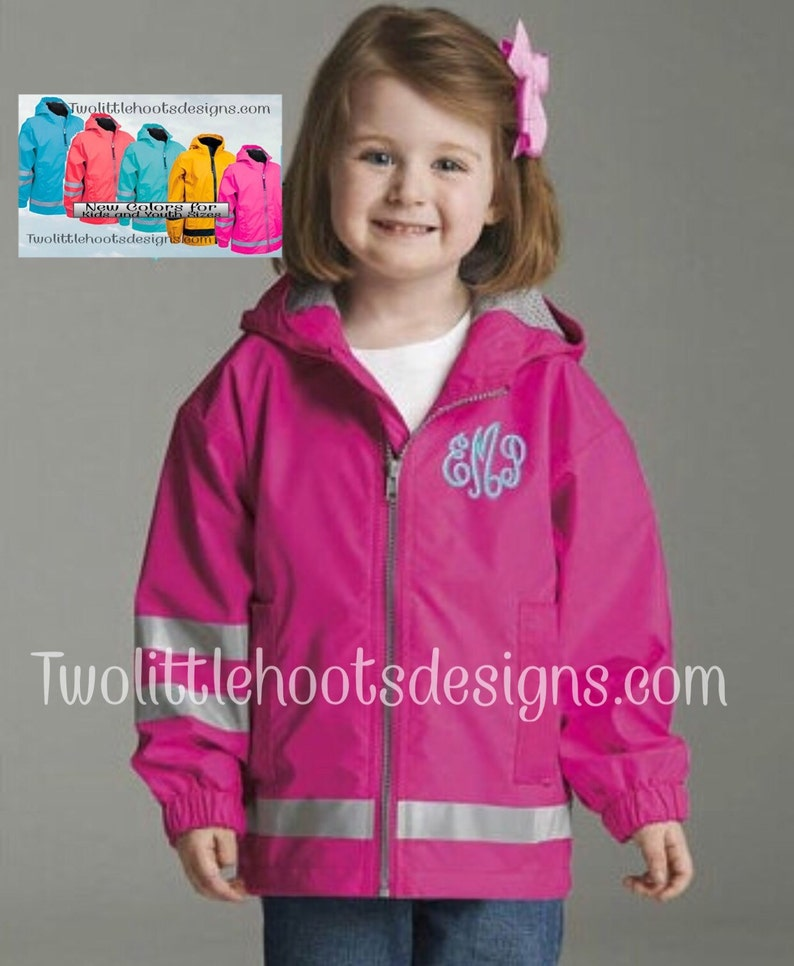 6d4a1a312888 Toddler Children Youth Charles River Rain Jacket
