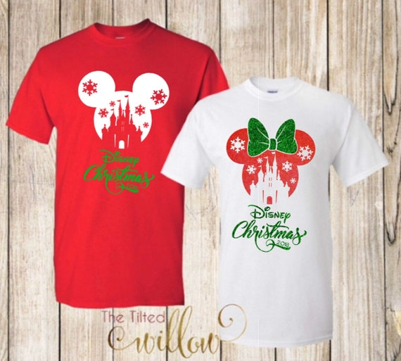 Disney Christmas Shirts.Disney Christmas Shirts Disney Trip Shirt Disney Shirt Disney Trip Tee Mickey And Minnie Castle Shirts
